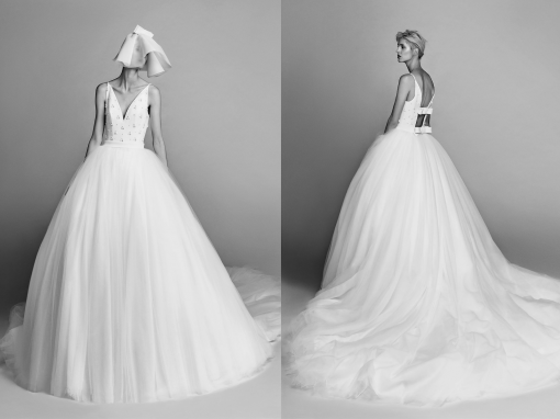 Viktor&Rolf Open Back Tulle Gown