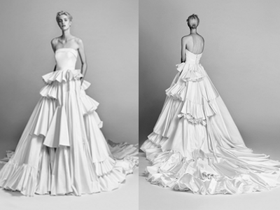 Viktor&Rolf Asymmetric Diana Gown