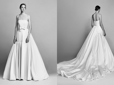 Asymmetric Ball Gown