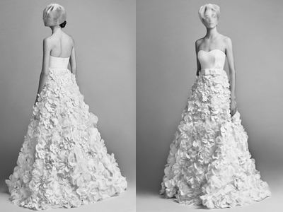 Viktor&Rolf Flower Sculpture Dress