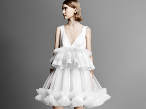 Tulle Patchwork Mini